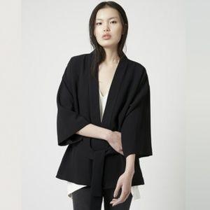 Topshop NWT Blue Belted Kimono Jacket